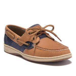 Sperry Women's US 9.5 Two toned boat shoe